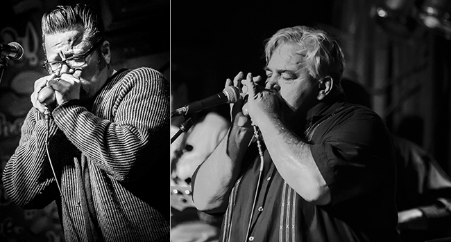 (left to right) Bubba McCoy (Photo by Naugle Photography); Chet Cannon (Photo by Abadilla Photography)