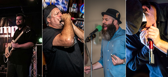 """(left to right) """"Big Jon"""" Atkinson (Photo by Allie Blues); Lance Dieckmann (Photo by Eli J. Medellin); Troy Sandow (Photo By Eli J. Medellin); Zachary Cole (Photo Naugle Photography)"""