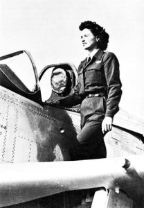 GHS alumna Jean Landis flew noncombat missions in the U.S. during World War II as a member of the Women Airforce Service Pilots. (Courtesy GHS Museum)