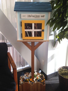 The Girl Scouts' finished product in Dr. Santiago Surillo's office. (Courtesy Tiffany Christian)