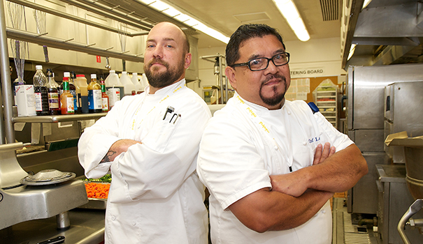 SharpGrossmont Chefs Bill Sauer and Larry Banareswebtop