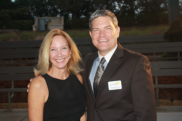 Gala Chair Suzan Botticelli and Water Conservation Garden Executive Director John Bolthouse pose for a picture at the WCG's Enchanted Gala on Oct. 17.