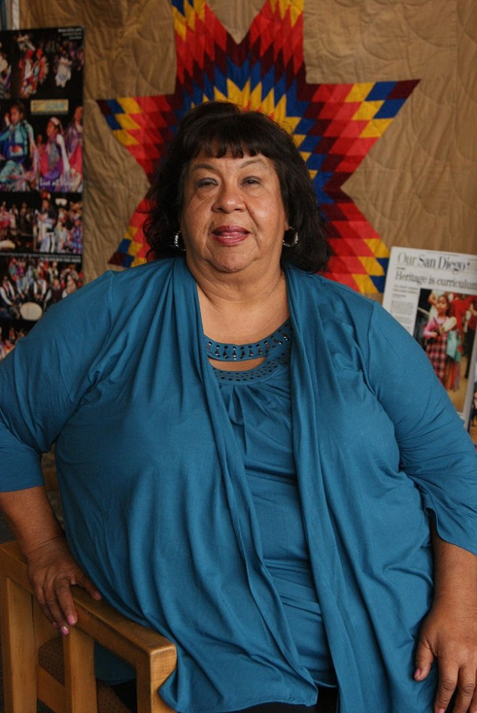 Vickie Gambala is a KPBS 'Local Hero' for American Indian Heritage Month. (Courtesy of KPBS)