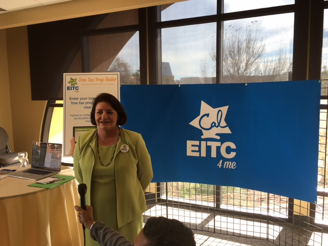 Assembly Speaker Toni Atkins was instrumental in getting funding for CalEITC. (Courtesy of CalEITC4Me Campaign)