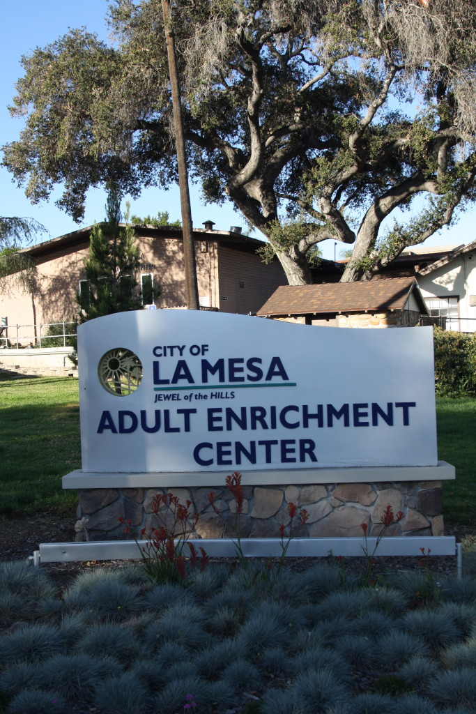 The La Mesa Adult Enrichment Center provides education opportunities for local seniors. (Photo by Jeff Clemetson)