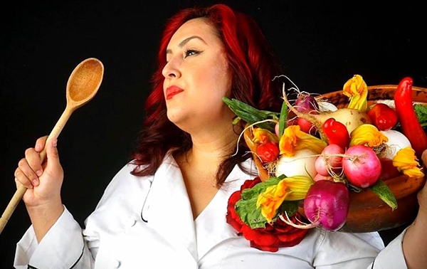 Local celebrity chef Claudia Sandoval will speak at the library Food for Thought event on March 12. (Courtesy of chefclaudiascocina.com)