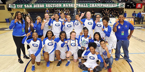 2016 GHS Girls Varsity Basketball CIF Champion photoweb
