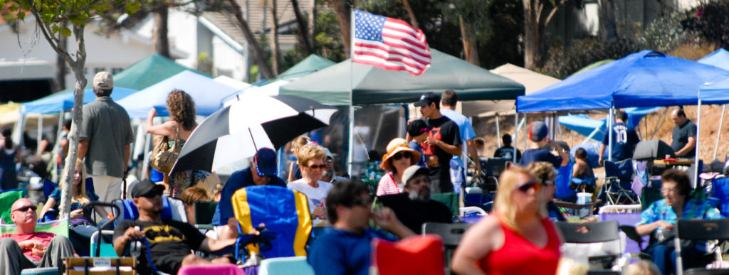 The Lake Murray music and fireworks festival was one of the most popular Independence Day events in San Diego and La Mesa. (Photo by Brett Alan, brettalanphotography.com)