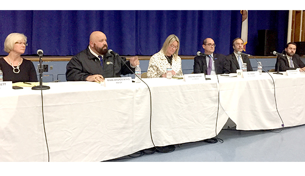 Residents voice concerns at city town hall meetings