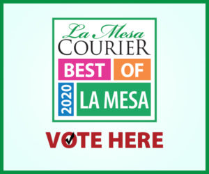 La Mesa Best of 2020 Ballot